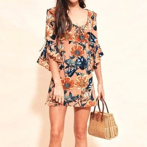 Love and lemons mini dress